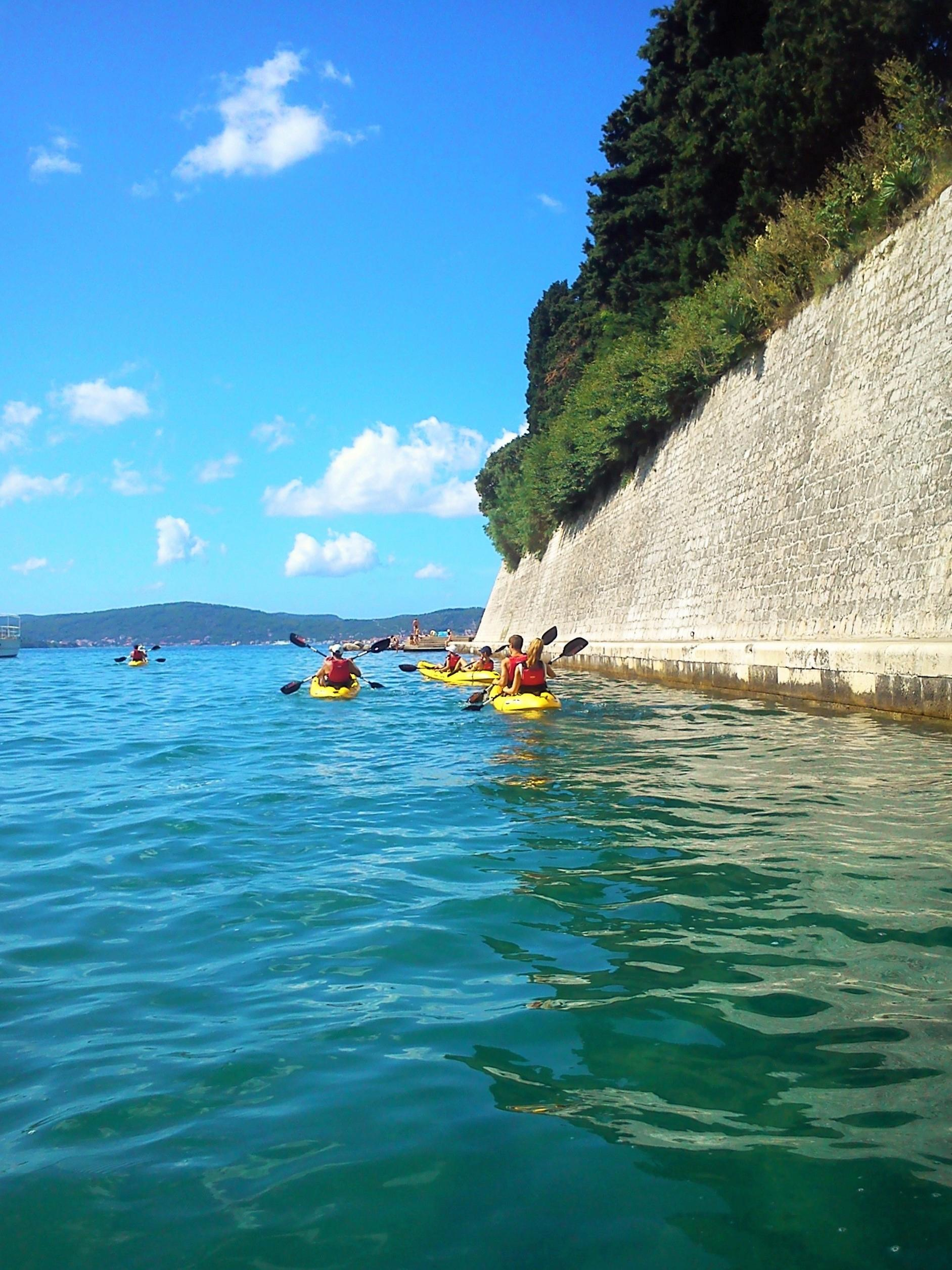 Kayaking in zadar