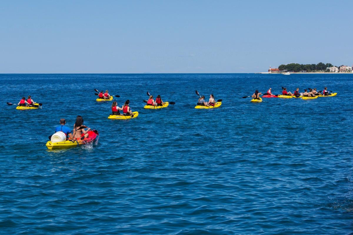 Zadar kayak tour.