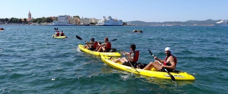 Kayaking multi adventrure