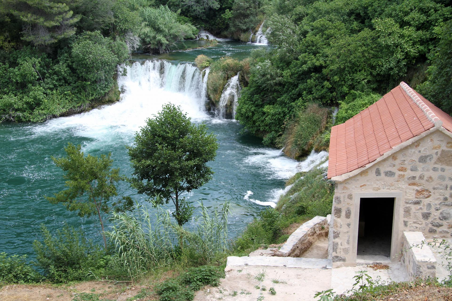Waterfalls in National Park Krka, Croatia -experience holiday