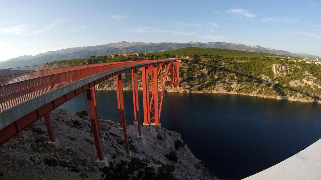 Maslenica bridge, Croatia