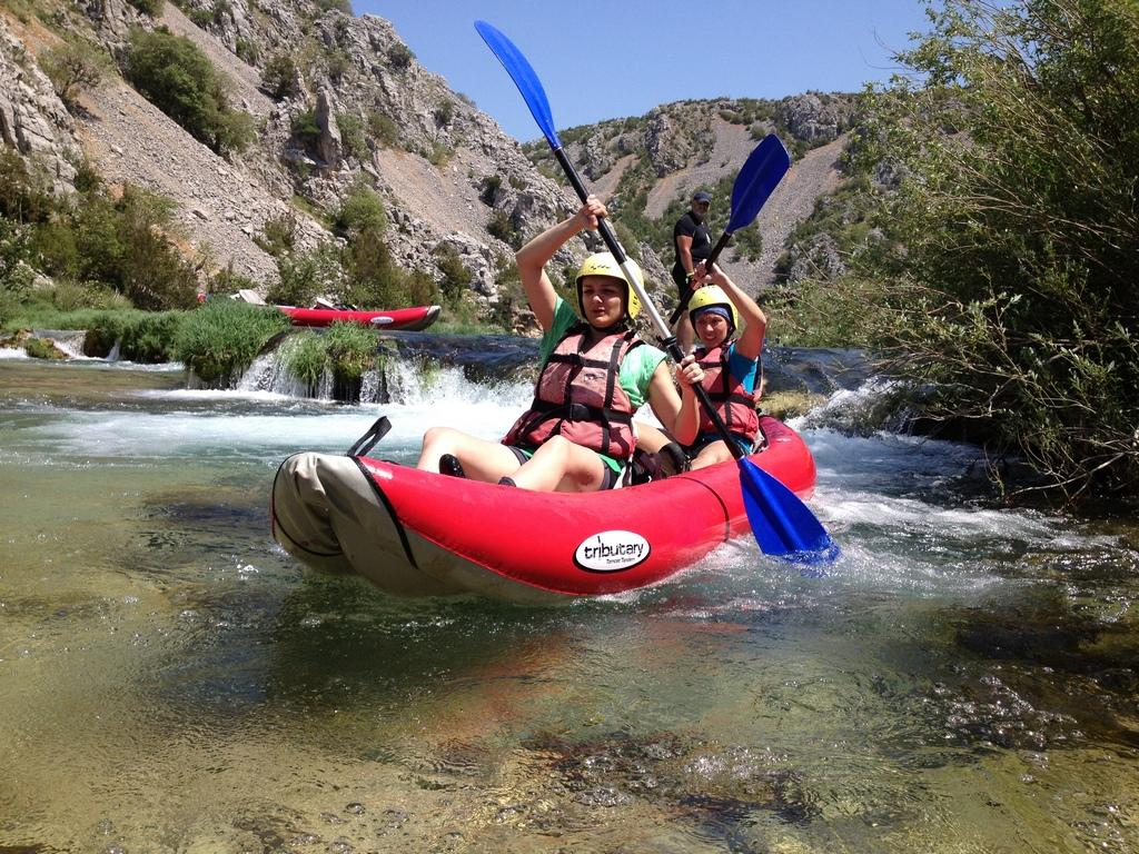 Kayaking multi adventure