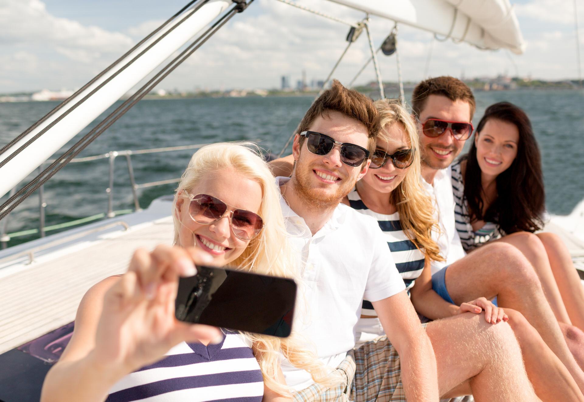 Selfie sailing