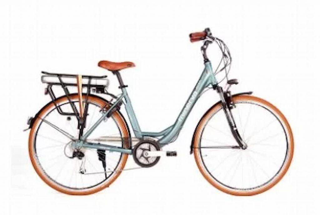 ženski električni bicikl