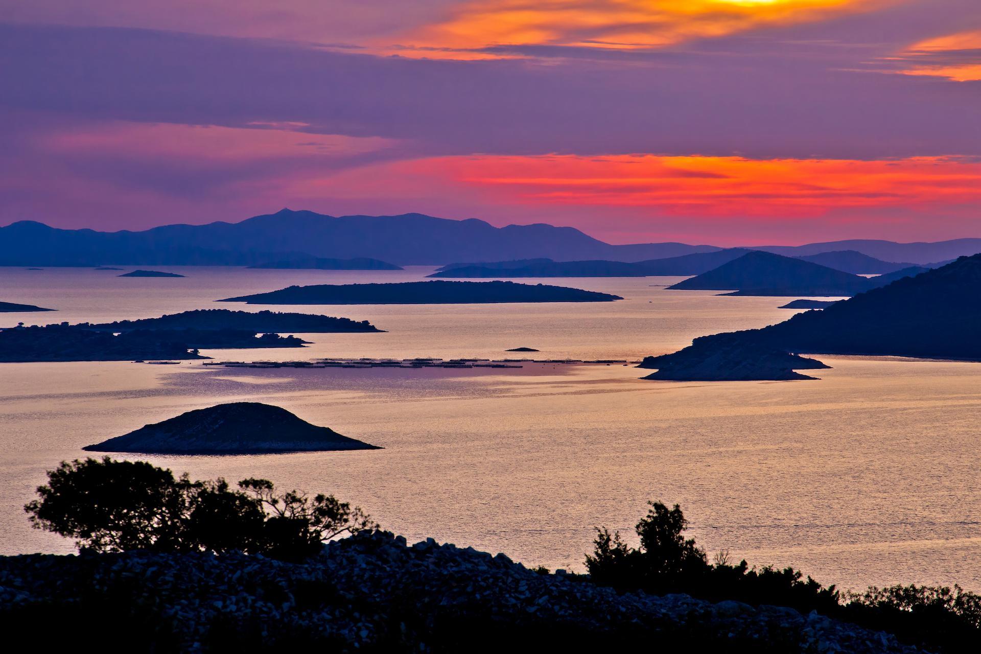 Sunset Kornati