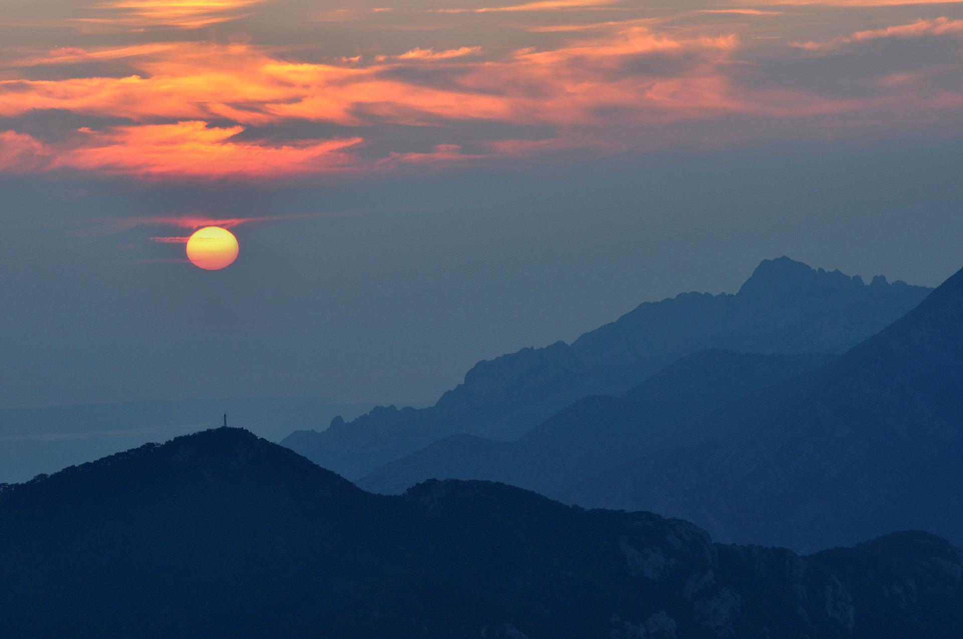 Paklenica sunset