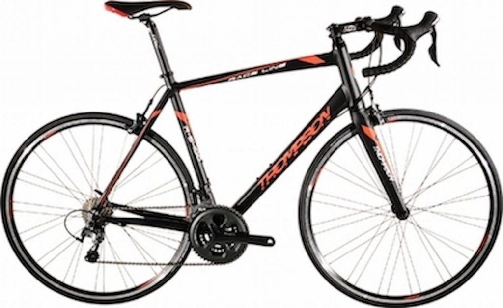 crno-crveni cestovni bicikl