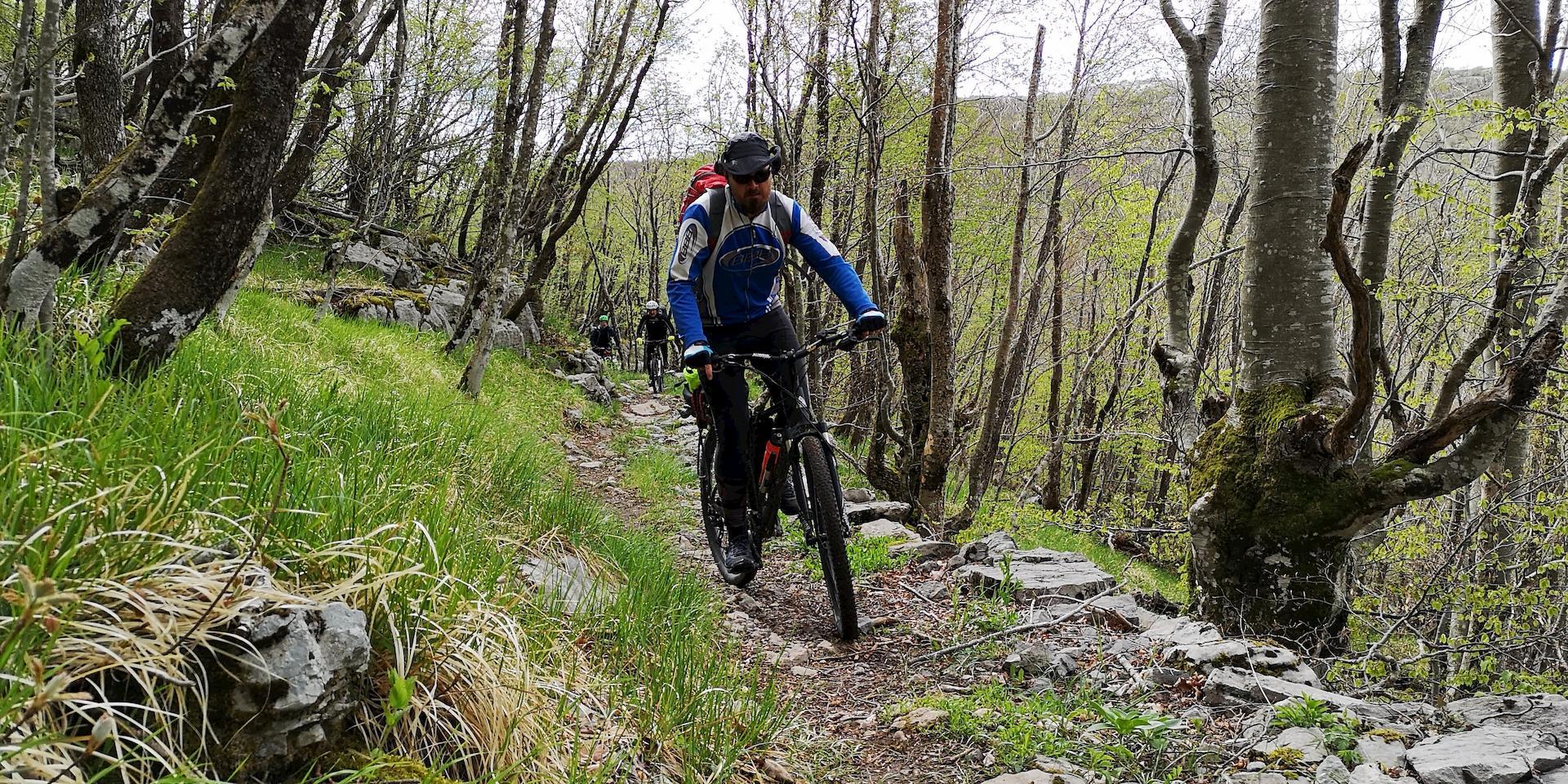 Bike on Velebit
