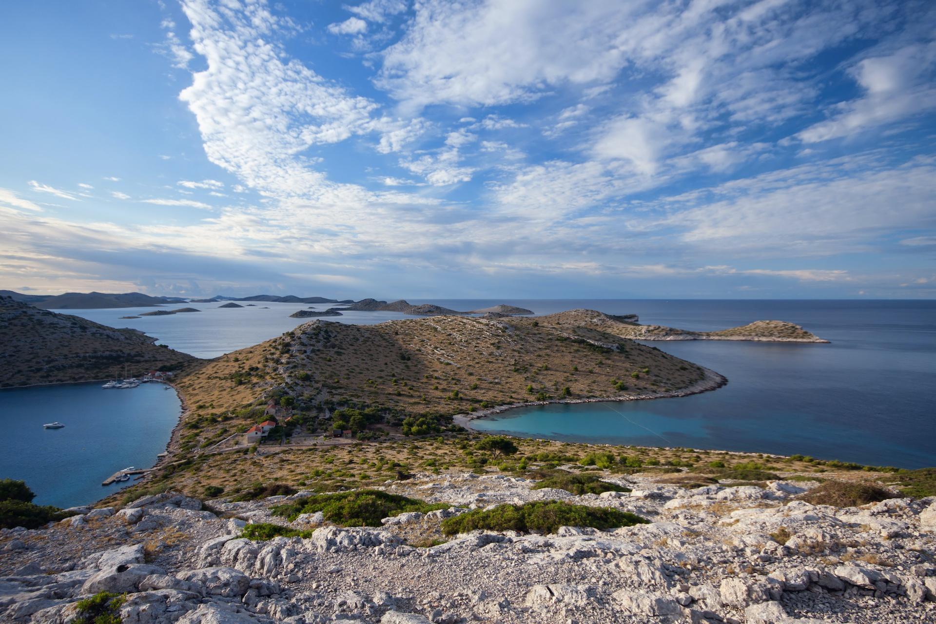kornati island dugi otok