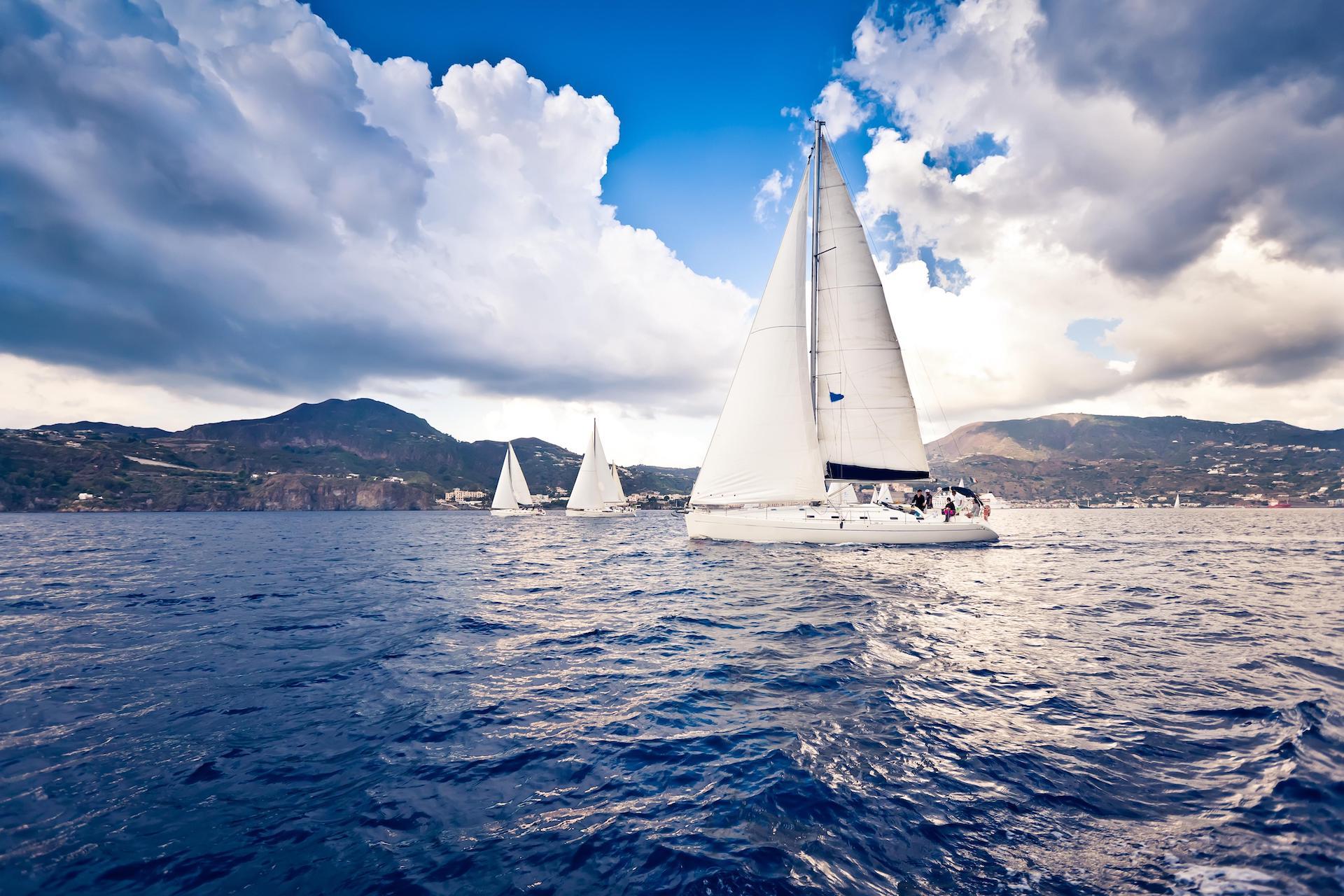 Sailing boat kornati