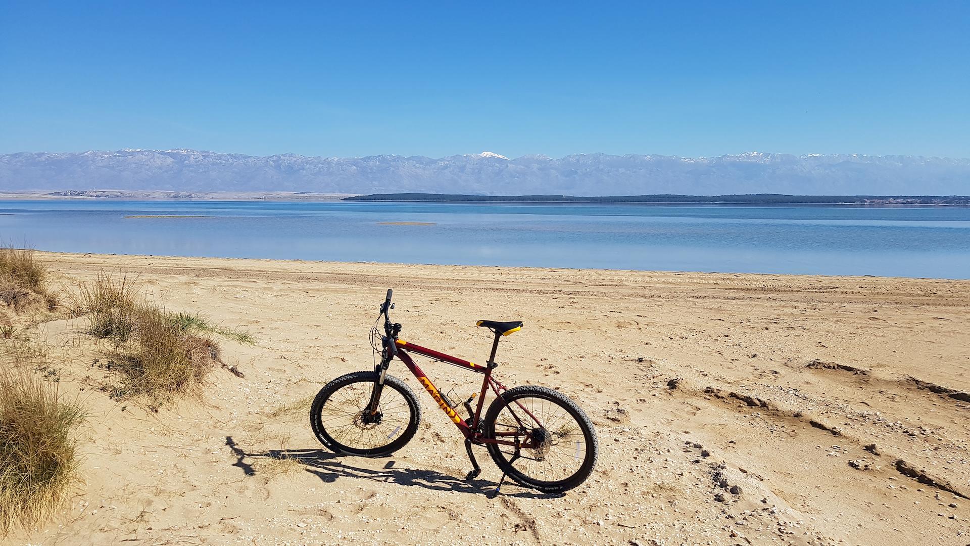 sandy beach croatia