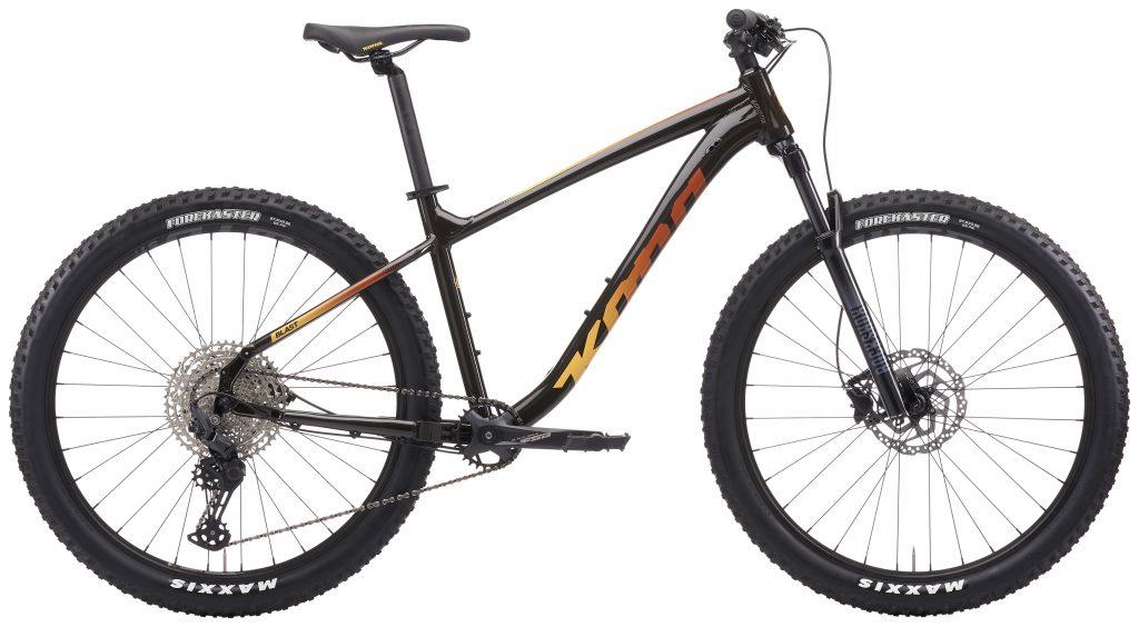 tamnocrveni brdski bicikl