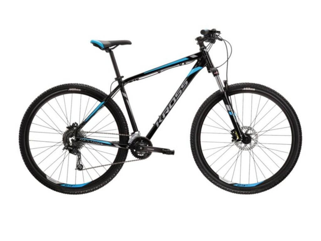 crno - plavo - sivi brdski bicikl