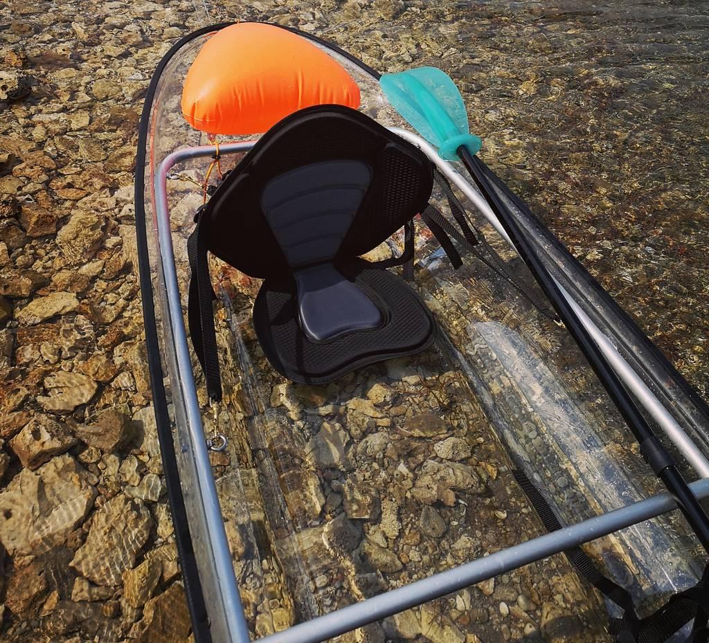 a see through kayak